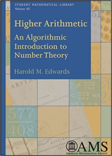 Book Higher Arithmetic (Student Mathematical Library) by Harold M. Edwards (2008-03-26)