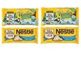 Holiday Baking Variety Pack: Nestle White Chocolate Morsels and Nestle Semi Sweet Chocolate and Mint Winter Morsels. Convenient One Stop Shopping. Who Doesnt Love Home Made Holiday Cookies?