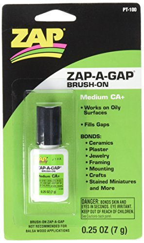 Pacer Technology (Zap) Brush on Zap a Gap Adhesives, 1/4 oz