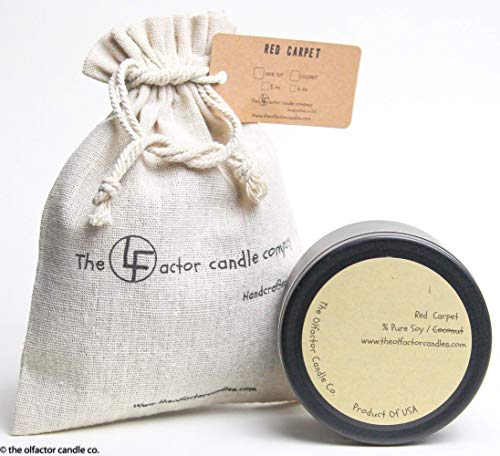 The Olfactor Candle Company   Fresh Citrus Scented Luxury All Natural Coconut Candle  100% Natural Orange, Lemon, Lime And Blood Orange Scented Coconut Oil Candle   Made in The USA