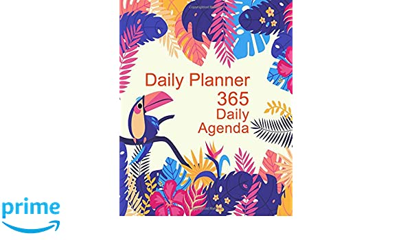 Daily Planner - 365 Daily Agenda: Your Weekly and Monthly ...