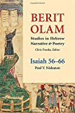 img - for Berit Olam: Isaiah 56-66 by Paul V. Niskanen (2014-09-19) book / textbook / text book
