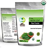Organic Neem Powder 16 Ounces(1 Pound) – USDA Certified Organic. No Preservative and All Natural – Way4Organic For Sale