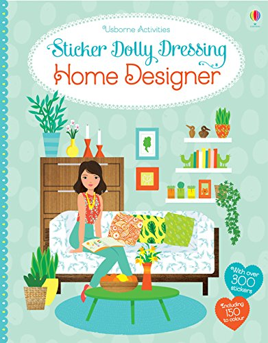 Sticker Dolly Dressing Fashion Designer Home Designer - Les Dollies Fashion