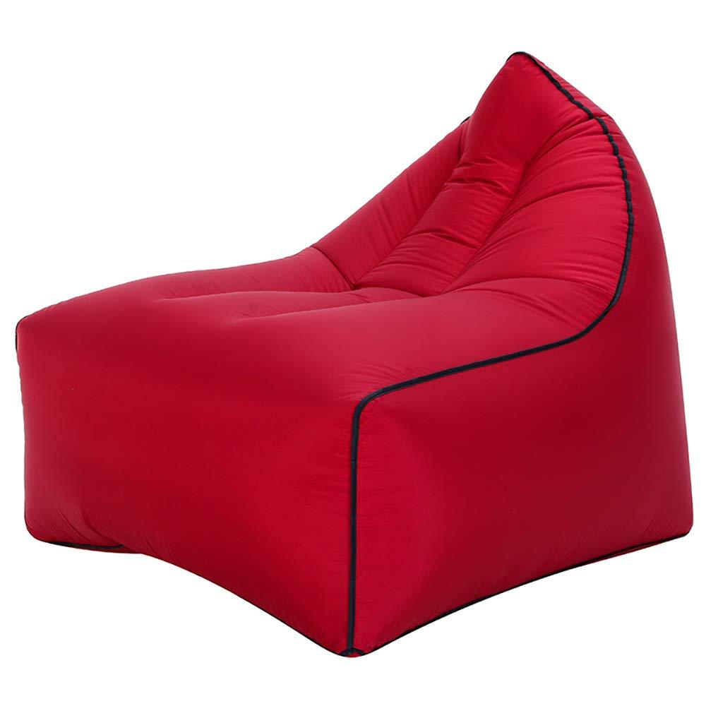 Aufblasbare Lazy Air Sofa Tragbare Liege Stuhl Couch Strand Liege Für Camping Outdoor Garten Indoor Freizeit,I