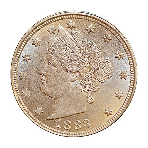 1883 P Liberty Head V Nickel - No Cents - Gem BU/MS / UNC - High Grade Coin/Superb