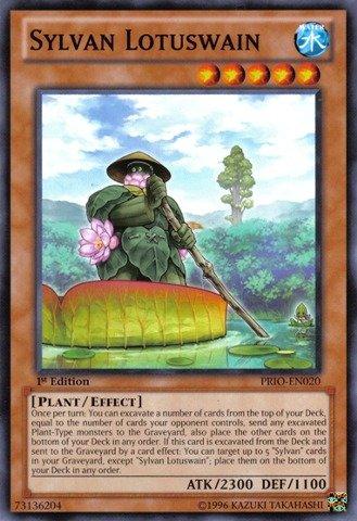Amazon.com: Yu-Gi-Oh! - Sylvan Lotuswain (PRIO-EN020 ...