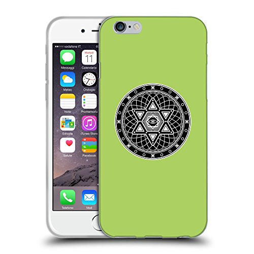 "GoGoMobile Coque de Protection TPU Silicone Case pour // Q08250628 Mystique occulte 4 poule // Apple iPhone 6 4.7"""