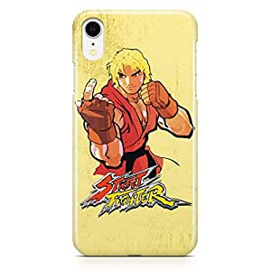 Loud Universe Ken Classic Action iPhone XR Case Street Fighter iPhone XR Cover with 3d Wrap around Edges