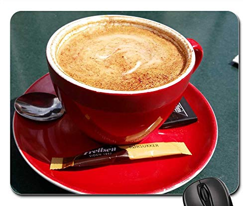 Mouse Pads - Coffee Denmark Drink Cup Table Cafe Food Hot