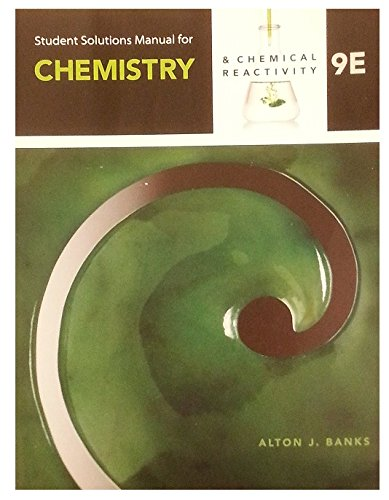 Student Solutions Manual for Kotz/Treichel/Townsend's Chemistry & Chemical Reactivity, 9th