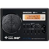 Sangean DPR-69+ tragbares DAB+ Digitalradio (UKW-Tuner, Batterie-/Netzbetrieb) schwarz