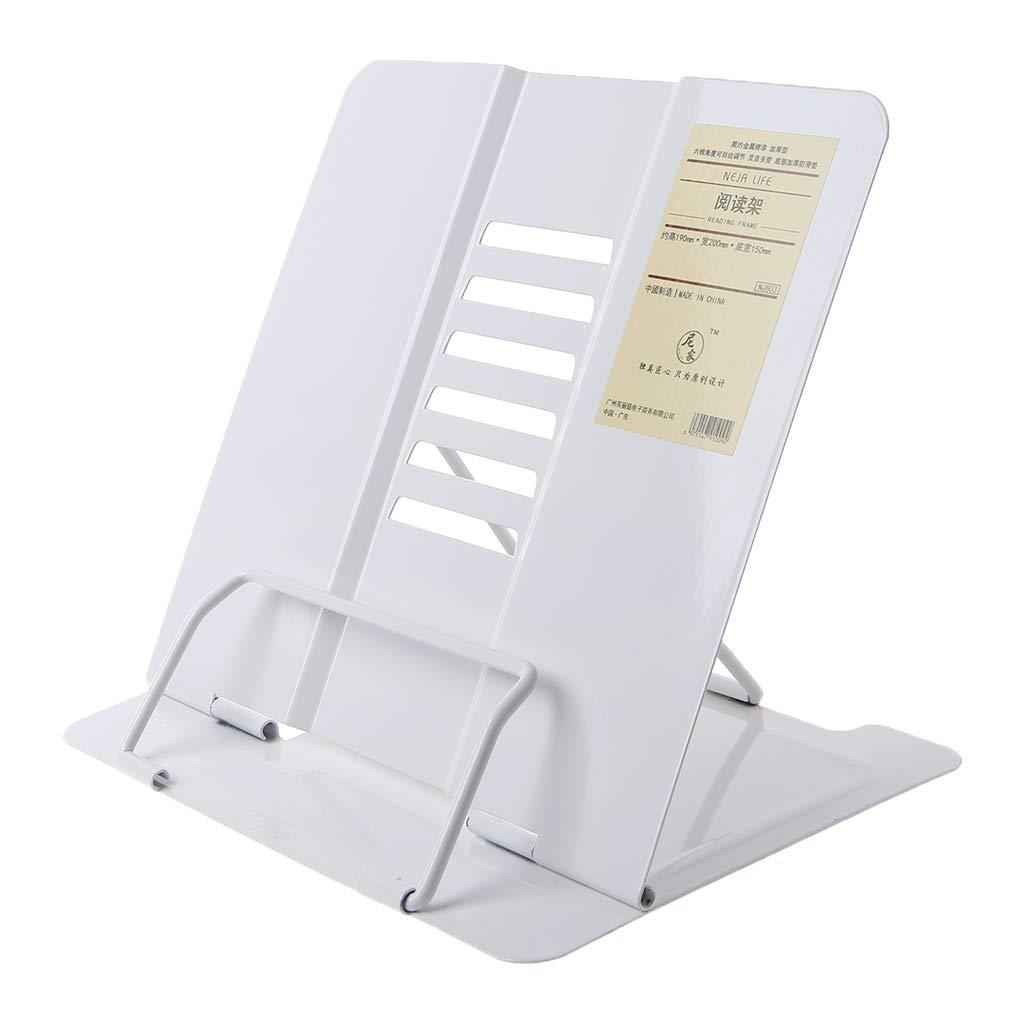 Roydoa Tragbarer B/ücherst/änder aus Metall verstellbar Einheitsgr/ö/ße grau