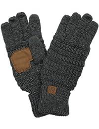 BYSUMMER C.C. Smart Touch Winter Warm Knit Touchscreen Texting Gloves