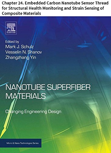 Structural Carbon Fiber - Nanotube Superfiber Materials: Chapter 24. Embedded Carbon Nanotube Sensor Thread for Structural Health Monitoring and Strain Sensing of Composite Materials (Micro and Nano Technologies)