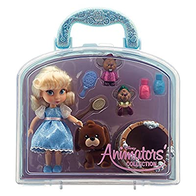 Disney Animators' Collection Cinderella Mini Doll Play Set: Toys & Games