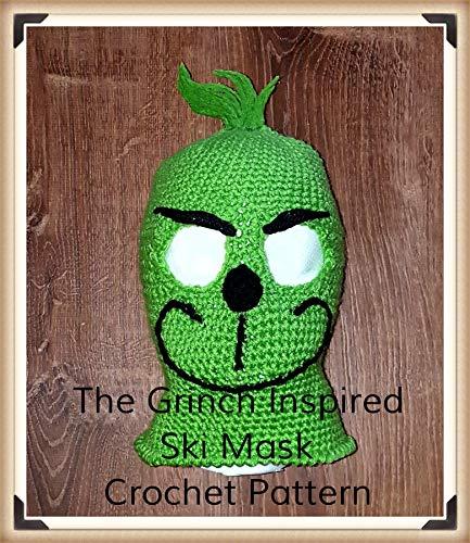 The Grinch Inspired Ski Mask Crochet Pattern