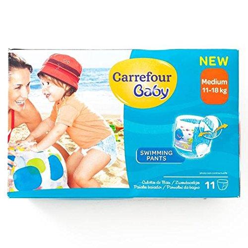 Carrefour natación del bebé pantalones Medio 11 por paquete: Amazon.es: Salud y cuidado personal