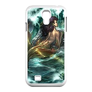 SamSung Galaxy S4 I9500 Little mermaid Phone Back Case Art Print Design Hard Shell Protection LK029568