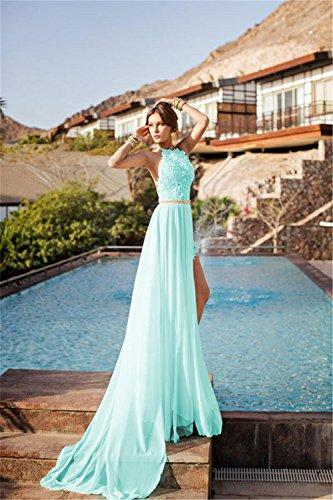 eff1a644f8f Babyonline Summer Beach Wedding Gowns for Bride 2016 White Halter ...
