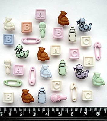 Novelty Cherry Buttons 15mm Crafts Haberdashery Sewing Embellishments