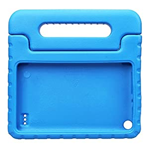 NEWSTYLE Kids Case for Fire 7 2015 Shockproof Light Weight Super Protection Cover Handle Stand for Children for Amazon Kindle Fire 7 inch Display Tablet (5th Generation - 2015 Release Only) (Blue)