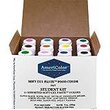 Americolor Soft Gel Paste Student Color Kit 12 pc.