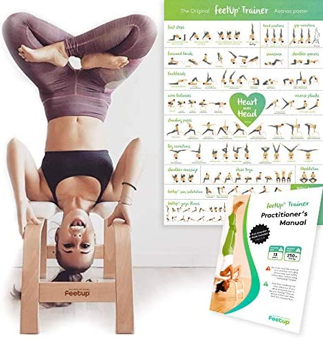 FeetUp Trainer The Original - Invert Safely Easily. Get Fit. Relax. Turn Your Yoga Upside Down