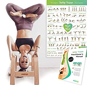 FeetUp Trainer (The Original) – Invert Safely & Easily. Get Fit. Relax. Turn Your Yoga Upside Down!