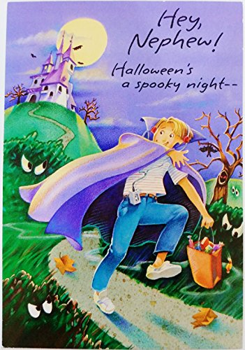 Adult Halloween Cards (Hey Nephew - Happy Halloween Greeting Card