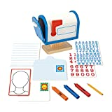 Melissa & Doug My Own Mailbox Wooden Activity Set (Pretend Toy Mailbox, Great Gift for Girls and Boys - Best for 4, 5 and 6 Year Olds)