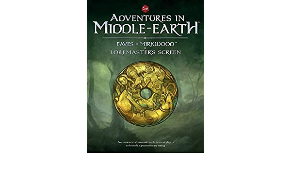 Adventures in Middle Earth LM Screen: 9780857443236: Books