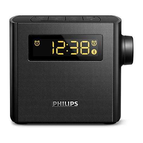 Philips AJT4400B/37 Bluetooth Speaker Clock Radio (Philips Clock Radio)