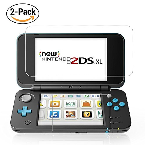 Nintendo 2DS XL Screen Protector , Bubble Free