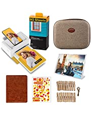 """Kodak Dock Plus 4x6"""" Portable Instant Photo Printer, Compatible with iOS, Android and Bluetooth Devices Full Color Real Photo, 4Pass & Lamination Process, Premium Quality - Convenient and Practical"""