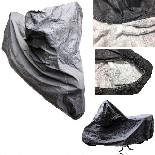Mediawave Housse de molletonnée pour scooter imperméable Taille M Couverture pour pour Beta Motor