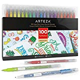 ARTEZA Dual Brush Pens TwiMarkers, Set of 100