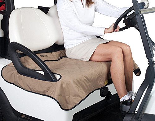 Cozy Golf Cart Bundle Kit - (includes Heater, Blanket & Seat Blanket) by 3G (Image #2)
