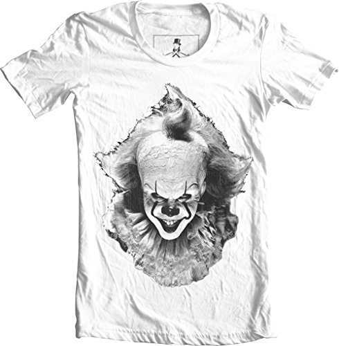 (It Clown Pennywise Halloween Horror Unisex T-Shirt (X-Large,)