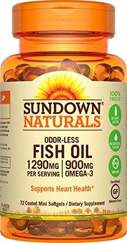 sundown-naturals-fish-oil-omega-3-1290-mg-72-odorless-coated-mini-softgels