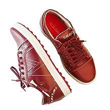 KARAKARA Spike-less Golf Shoes, KR-401 Two Colors (IVORY & Burgundy) 225 - 280 mm for Man & Women
