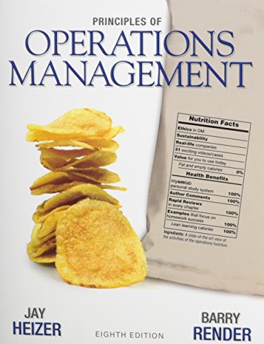 Principles of Operations Management with DVD Library (8th Edition)