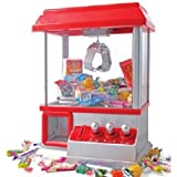 UNIBOS Candy Grabber - Traditional Replica Arcade Machine - Play All Day & Have Fun
