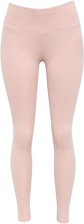 Libertepe Legging Stretch Taille Haute Cale/çon Ajust/é Couleur Unie Pantalon de Sport Yoga Gym Jogging Femme Fitness Automne Printemps