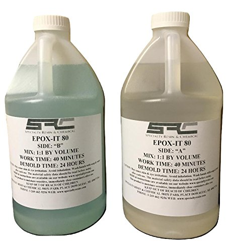 - Epoxy Resin 1 Gal Kit For Crystal Clear Coating Bar And Table Tops