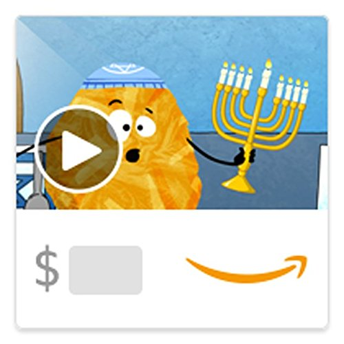 Amazon eGift Card - The Singing Latkes (Animated) [American Greetings]