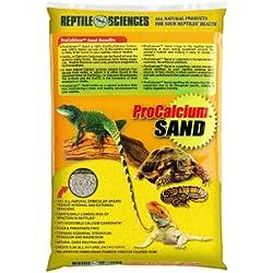 Reptile Sciences Terrarium Sand, 10-Pound, Yellow