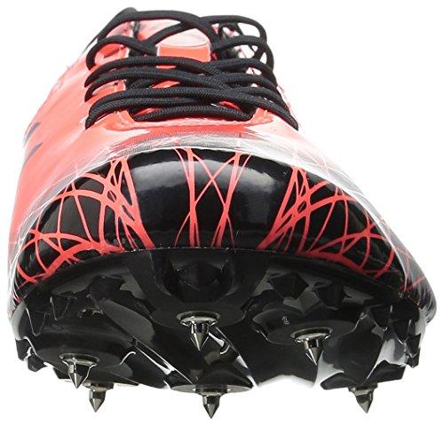 Asics Hombres Sonicsprint Pista Y Campo Shoe Flash Coral / Black
