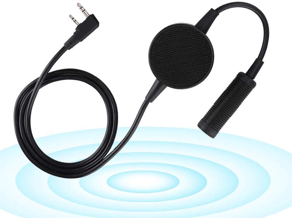 TCI PTT for Radio Walkie Talkie Headset,K Head Headset Push to Talk PTT,TCI Round Waterproof PTT for Two-Way Radio Walkie Talkie Fit for Motorola,for Kenwood