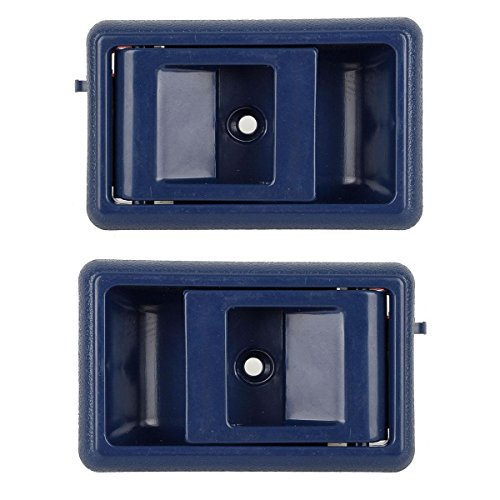 AUTEX 2pcs Blue Interior Door Handle (Left Right Driver Passenger Side) for 1989-1995 1989-1995 Toyota 4Runner, 1989-1995 Toyota (1990 Toyota Parts)